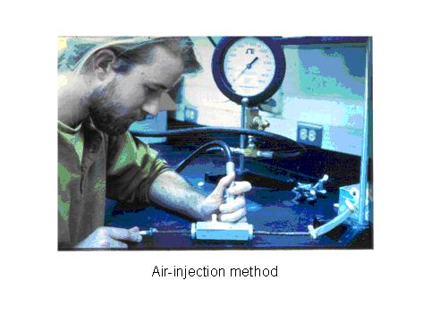Air injection method